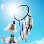 dream catcher does its best under a brilliant sky