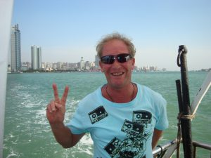 Paul takes a ferry ride to a beautiful island off the coast of Xiamen China