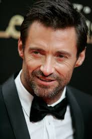 Picture of Hugh Jackman in suit andbBow tie
