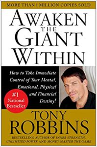 Tony Robbins Best selling book; Awaken The Giant Within- Click here to purchase here now