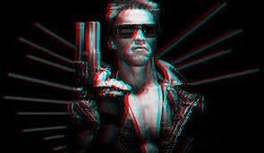 Photo of Arnold from Terminator movie