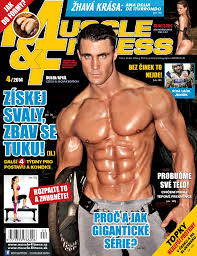Greg Plitt front page of Muscle and Fitness Magazine absolutely ripped