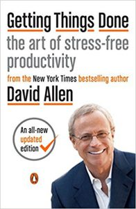 David Allen Book: Getting Things Done-the art of stress free productivity- Click here to purchase now