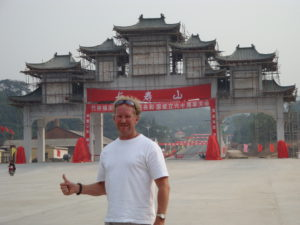 Photo of Me Hanging out in mainland China