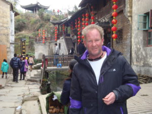 Me, Paul in a historic village in China-winter